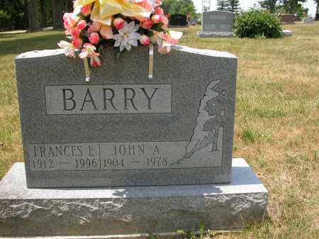 BARRY, FRANCES E. - Union County, Ohio | FRANCES E. BARRY - Ohio Gravestone Photos