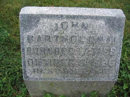 BARTHOLOMAI, JOHN - Union County, Ohio   JOHN BARTHOLOMAI - Ohio Gravestone Photos