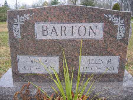 BARTON, HELEN M. - Union County, Ohio | HELEN M. BARTON - Ohio Gravestone Photos