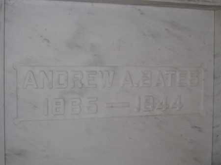 BATES, ANDREW A. - Union County, Ohio | ANDREW A. BATES - Ohio Gravestone Photos