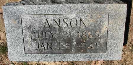 BAUGHMAN, ANSON - Union County, Ohio | ANSON BAUGHMAN - Ohio Gravestone Photos