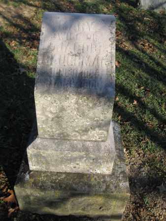 BAUGHMAN, MARY - Union County, Ohio | MARY BAUGHMAN - Ohio Gravestone Photos