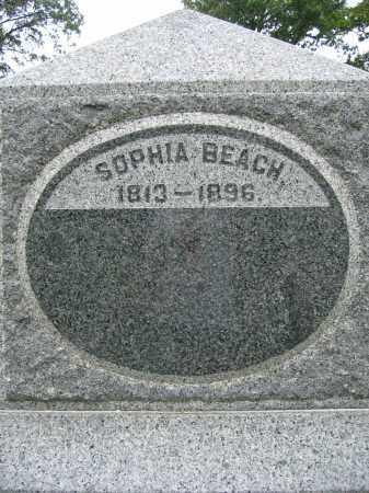 BEACH, SOPHIA - Union County, Ohio   SOPHIA BEACH - Ohio Gravestone Photos