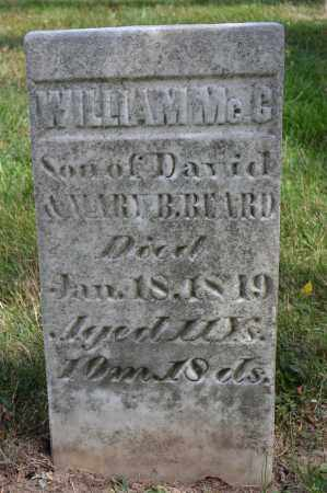 BEARD, WILLIAM MCC - Union County, Ohio   WILLIAM MCC BEARD - Ohio Gravestone Photos