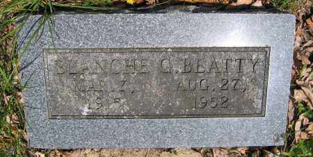 BEATTY, BLANCHE G. - Union County, Ohio   BLANCHE G. BEATTY - Ohio Gravestone Photos