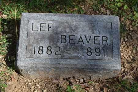 BEAVER, LEE - Union County, Ohio   LEE BEAVER - Ohio Gravestone Photos