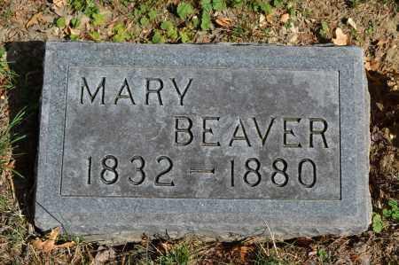 BEAVER, MARY - Union County, Ohio   MARY BEAVER - Ohio Gravestone Photos