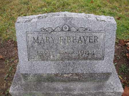 BEAVER, MARY F. - Union County, Ohio | MARY F. BEAVER - Ohio Gravestone Photos