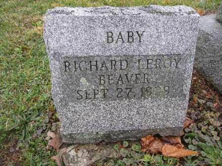 BEAVER, RICHARD LEROY - Union County, Ohio | RICHARD LEROY BEAVER - Ohio Gravestone Photos