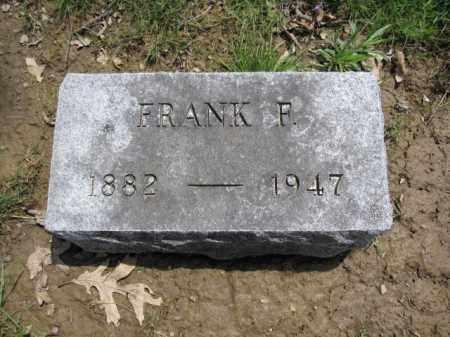 BECK, FRANK F. - Union County, Ohio   FRANK F. BECK - Ohio Gravestone Photos