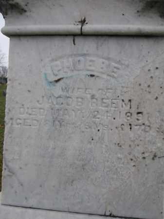 BEEM, PHOEBE - Union County, Ohio | PHOEBE BEEM - Ohio Gravestone Photos