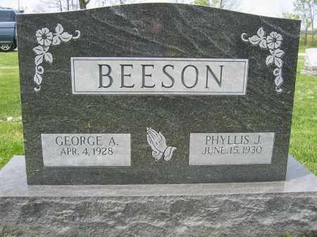 BEESON, PHYLLIS J. - Union County, Ohio | PHYLLIS J. BEESON - Ohio Gravestone Photos
