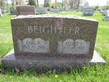 BEIGHTLER, ESTHER L. - Union County, Ohio | ESTHER L. BEIGHTLER - Ohio Gravestone Photos