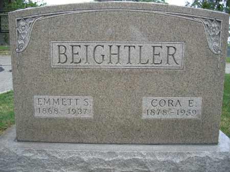 BEIGHTLER, EMMETT S. - Union County, Ohio | EMMETT S. BEIGHTLER - Ohio Gravestone Photos