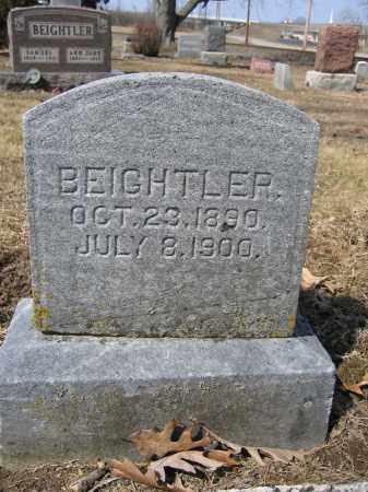 BEIGHTLER, FOREST - Union County, Ohio | FOREST BEIGHTLER - Ohio Gravestone Photos