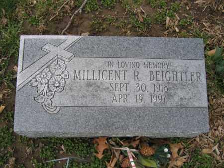 BEIGHTLER, MILLICENT R. - Union County, Ohio | MILLICENT R. BEIGHTLER - Ohio Gravestone Photos