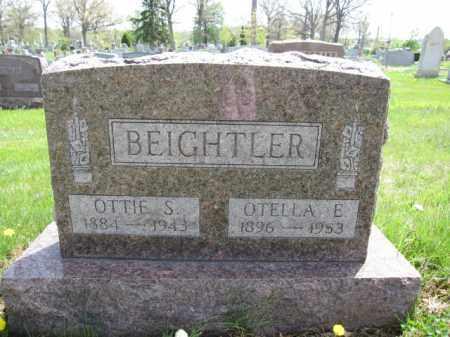 BEIGHTLER, OTELLA E. - Union County, Ohio | OTELLA E. BEIGHTLER - Ohio Gravestone Photos