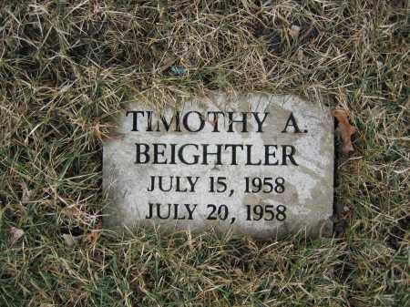 BEIGHTLER, TIMOTHY A. - Union County, Ohio   TIMOTHY A. BEIGHTLER - Ohio Gravestone Photos