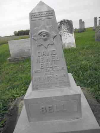 BELL, DAVID NEWELL - Union County, Ohio   DAVID NEWELL BELL - Ohio Gravestone Photos