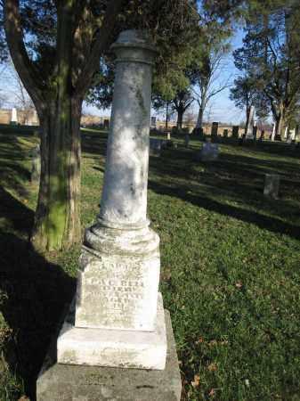 BELL, SARAH - Union County, Ohio | SARAH BELL - Ohio Gravestone Photos
