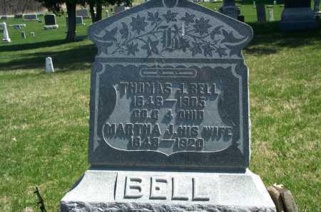 BELL, MARTHA J. - Union County, Ohio | MARTHA J. BELL - Ohio Gravestone Photos