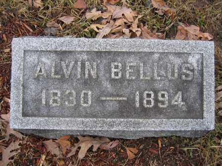 BELLUS, ALVIN - Union County, Ohio | ALVIN BELLUS - Ohio Gravestone Photos