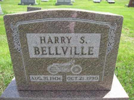 BELLVILLE, HARRY S. - Union County, Ohio | HARRY S. BELLVILLE - Ohio Gravestone Photos
