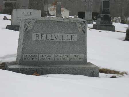 BELLVILLE, SYLVESTER - Union County, Ohio | SYLVESTER BELLVILLE - Ohio Gravestone Photos