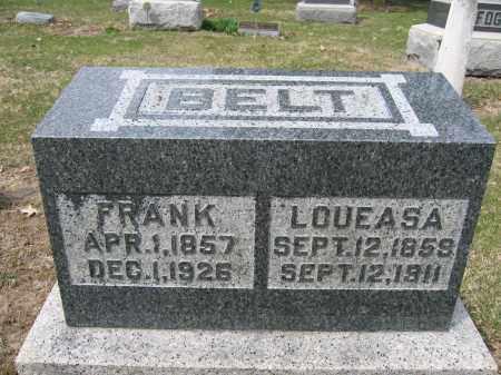BELT, FRANK - Union County, Ohio | FRANK BELT - Ohio Gravestone Photos
