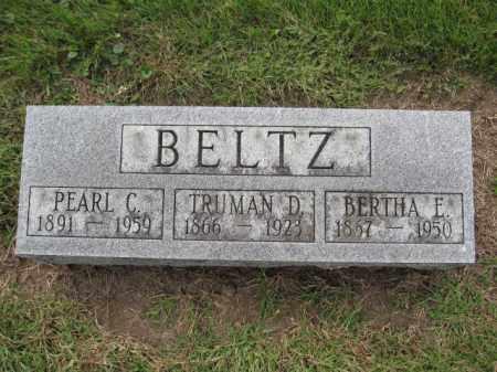 BELTZ, BERTHA E. - Union County, Ohio   BERTHA E. BELTZ - Ohio Gravestone Photos