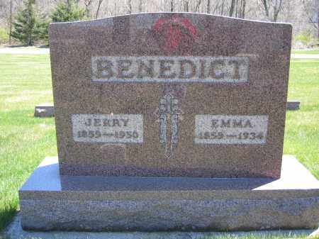 BENEDICT, EMMA - Union County, Ohio   EMMA BENEDICT - Ohio Gravestone Photos