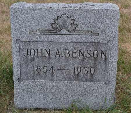 BENSON, JOHN A. - Union County, Ohio | JOHN A. BENSON - Ohio Gravestone Photos