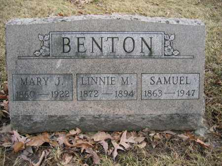 BENTON, SAMUEL - Union County, Ohio | SAMUEL BENTON - Ohio Gravestone Photos