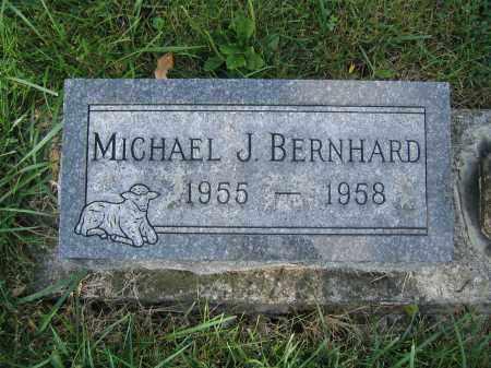 BERNHARD, MICHAEL J. - Union County, Ohio | MICHAEL J. BERNHARD - Ohio Gravestone Photos