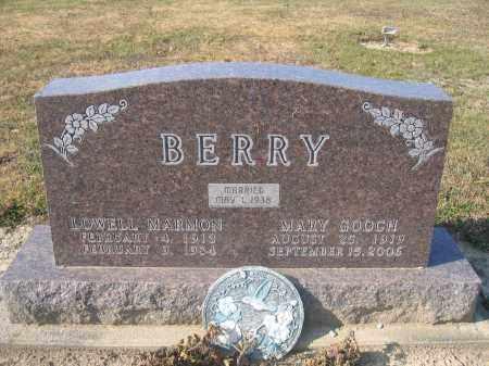 BERRY, MARY GOOCH - Union County, Ohio | MARY GOOCH BERRY - Ohio Gravestone Photos