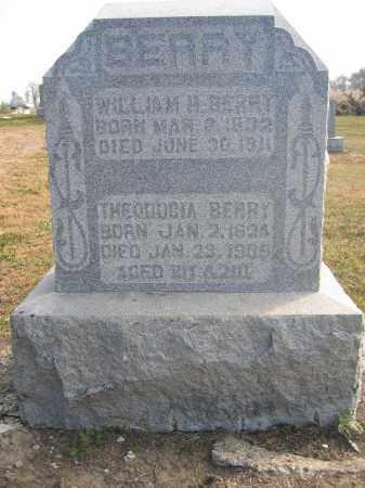 BERRY, WILLIAM H. - Union County, Ohio | WILLIAM H. BERRY - Ohio Gravestone Photos