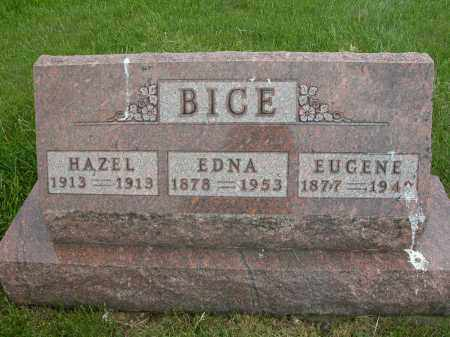 BICE, EUGENE - Union County, Ohio | EUGENE BICE - Ohio Gravestone Photos