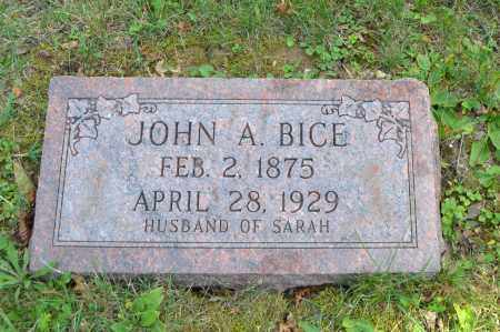 BICE, JOHN A. - Union County, Ohio   JOHN A. BICE - Ohio Gravestone Photos