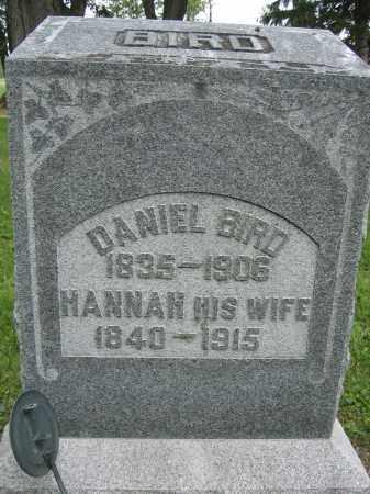 BIRD, HANAH - Union County, Ohio | HANAH BIRD - Ohio Gravestone Photos
