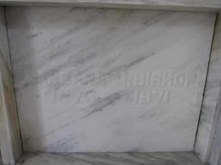 BISHOP, BARBARA M. - Union County, Ohio | BARBARA M. BISHOP - Ohio Gravestone Photos
