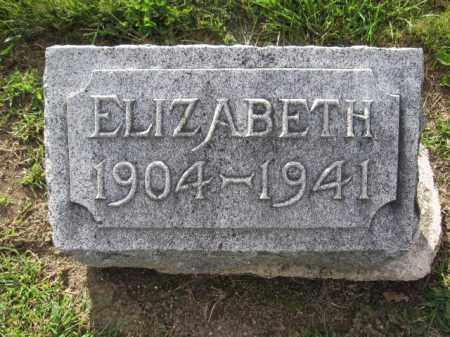 BISHOP, ELIZABETH - Union County, Ohio   ELIZABETH BISHOP - Ohio Gravestone Photos