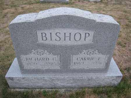 BISHOP, RICHARD G. - Union County, Ohio   RICHARD G. BISHOP - Ohio Gravestone Photos