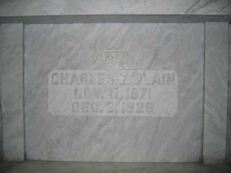 BLAIN, CHARLES E. - Union County, Ohio | CHARLES E. BLAIN - Ohio Gravestone Photos