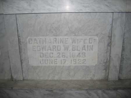 BLAIN, CATHARINE - Union County, Ohio | CATHARINE BLAIN - Ohio Gravestone Photos