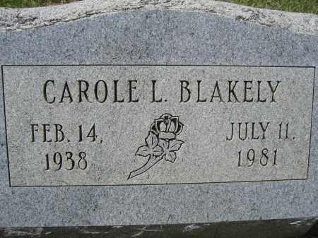 BLAKELY, CAROLE L. - Union County, Ohio   CAROLE L. BLAKELY - Ohio Gravestone Photos