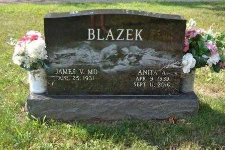 BLAZEK, JAMES V. - Union County, Ohio | JAMES V. BLAZEK - Ohio Gravestone Photos