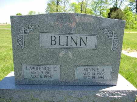 BLINN, LAWRENCE E. - Union County, Ohio | LAWRENCE E. BLINN - Ohio Gravestone Photos
