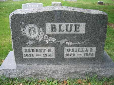 BLUE, ELBERT B. - Union County, Ohio | ELBERT B. BLUE - Ohio Gravestone Photos