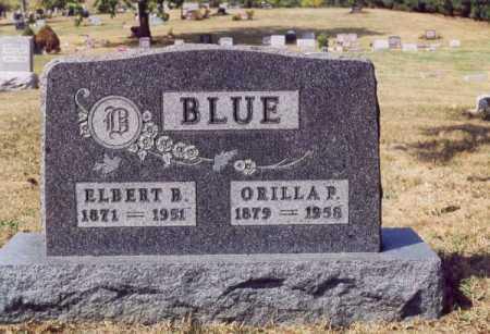 BLUE, ORILLA P - Union County, Ohio | ORILLA P BLUE - Ohio Gravestone Photos