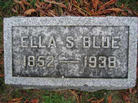 BLUE, ELLA S. - Union County, Ohio | ELLA S. BLUE - Ohio Gravestone Photos